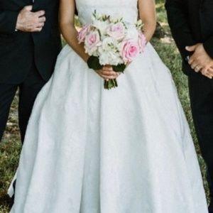 Justin Alexander Caroline Ivory Lace Wedding Dress